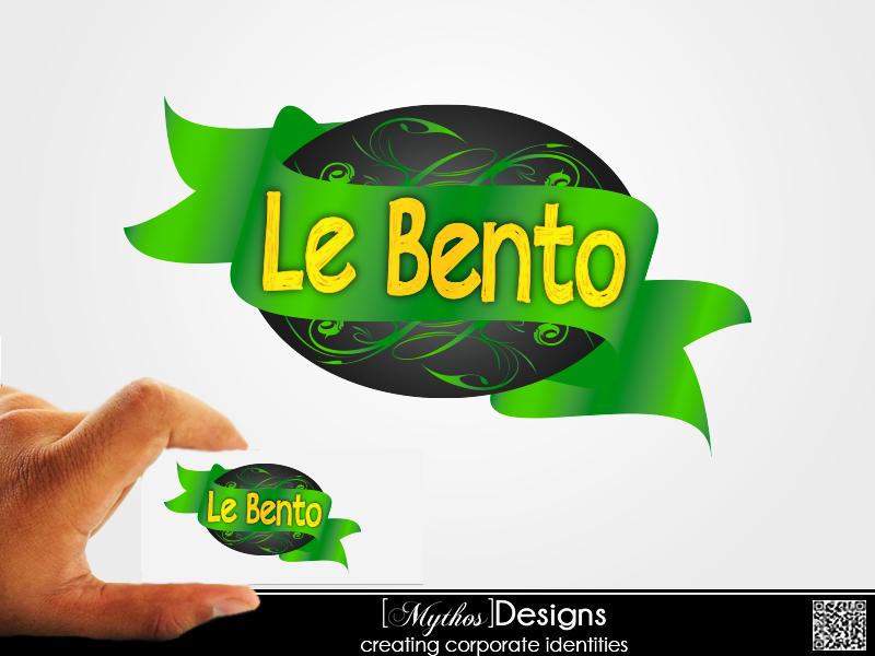 Logo Design by Mythos Designs - Entry No. 21 in the Logo Design Contest Captivating Logo Design for Le Bento.