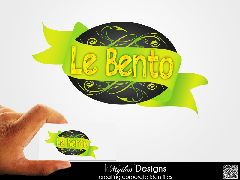 Logo Design by Mythos Designs - Entry No. 22 in the Logo Design Contest Captivating Logo Design for Le Bento.