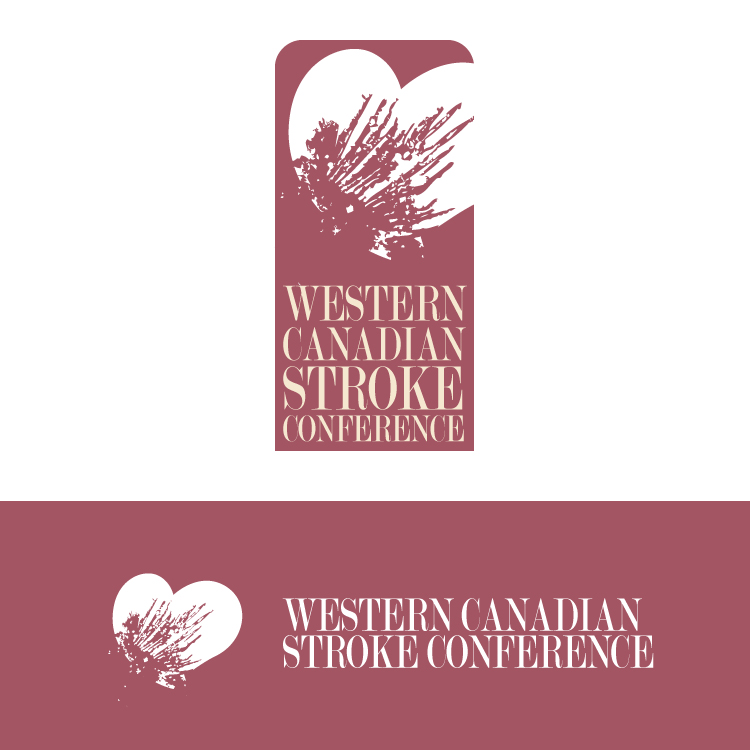 Logo Design by Hector Martinez - Entry No. 23 in the Logo Design Contest Artistic Logo Design for Western Canadian Stroke Conference.
