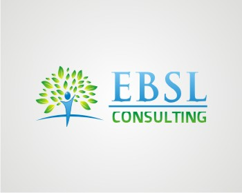 Logo Design by kulay - Entry No. 48 in the Logo Design Contest EBSL Consulting Logo Design.