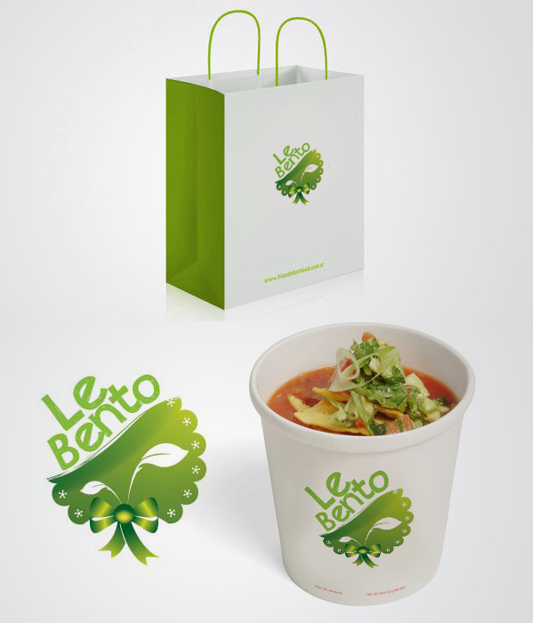 Logo Design by Private User - Entry No. 27 in the Logo Design Contest Captivating Logo Design for Le Bento.