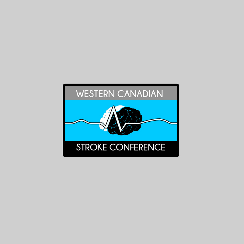 Logo Design by Utkarsh Bhandari - Entry No. 24 in the Logo Design Contest Artistic Logo Design for Western Canadian Stroke Conference.