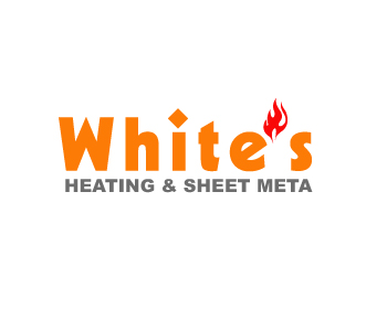 Logo Design by Parag Sohani - Entry No. 33 in the Logo Design Contest Imaginative Logo Design for White's Heating and Sheet Metal.