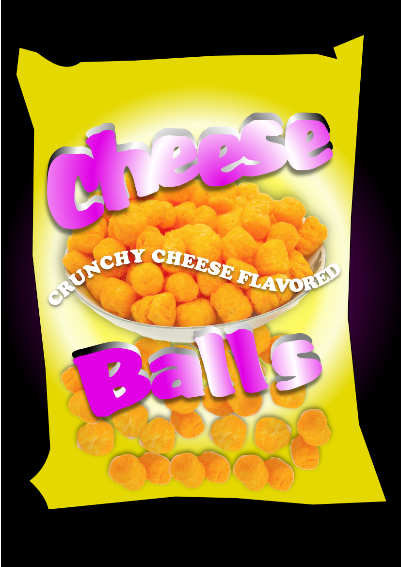Logo Design by Heri Susanto - Entry No. 38 in the Logo Design Contest Imaginative Logo Design for Cheese Balls.