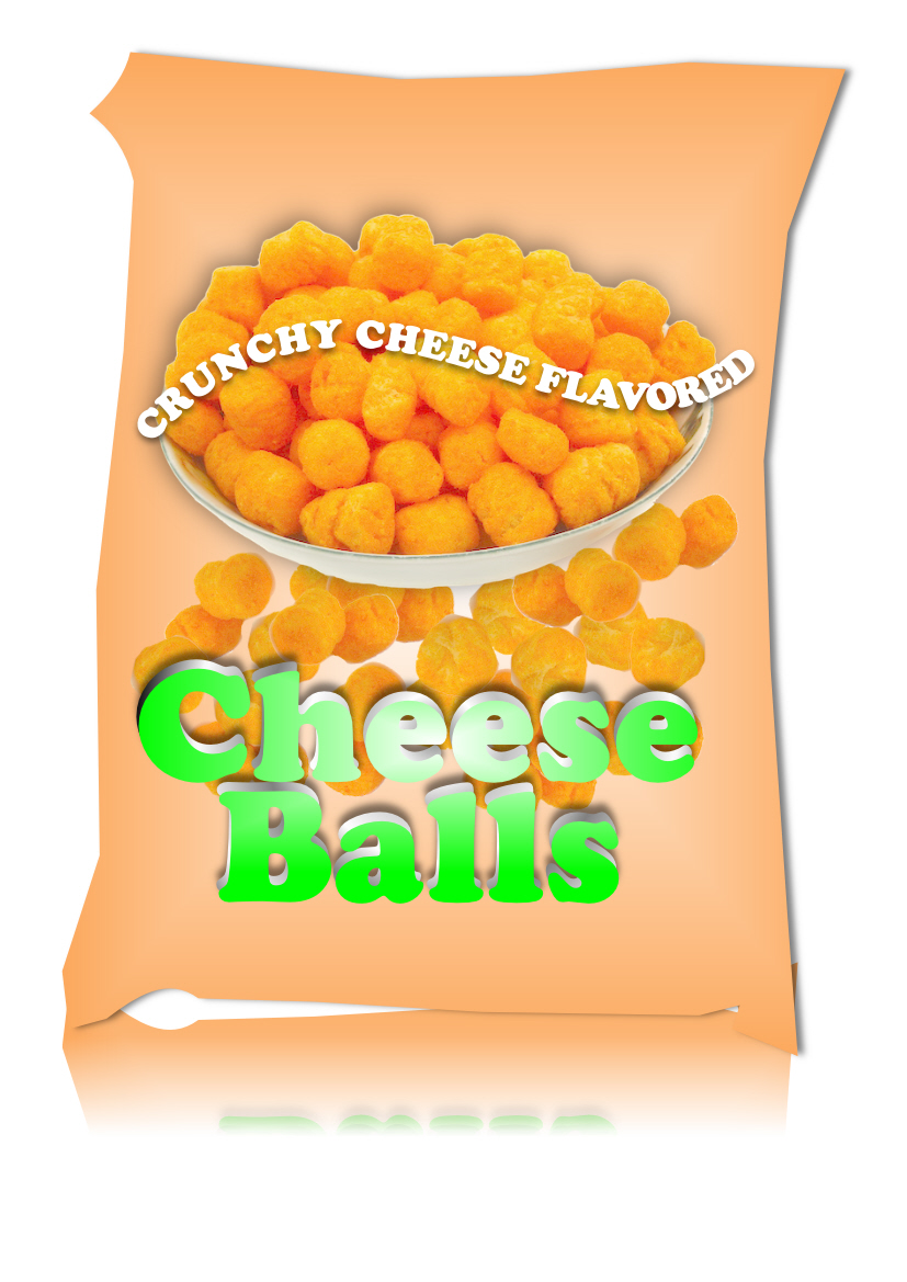 Logo Design by Heri Susanto - Entry No. 39 in the Logo Design Contest Imaginative Logo Design for Cheese Balls.