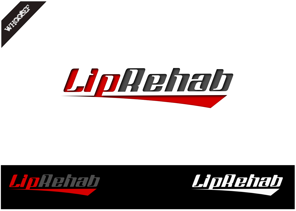 Logo Design by whoosef - Entry No. 159 in the Logo Design Contest Creative Logo Design for Lip Rehab.