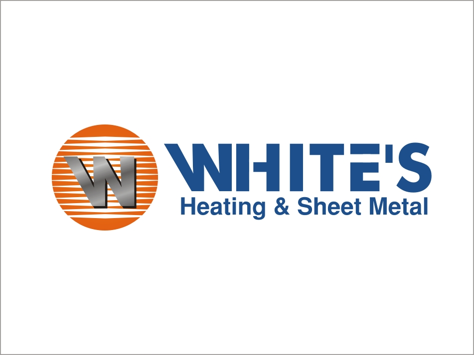 Logo Design by RED HORSE design studio - Entry No. 35 in the Logo Design Contest Imaginative Logo Design for White's Heating and Sheet Metal.