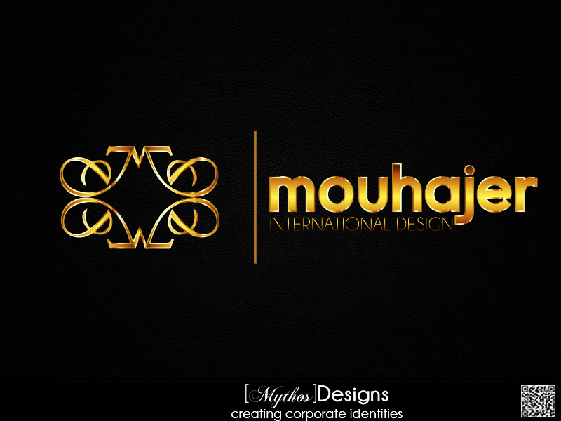 Logo Design by Mythos Designs - Entry No. 41 in the Logo Design Contest Unique Logo Design Wanted for Mouhajer International Design.