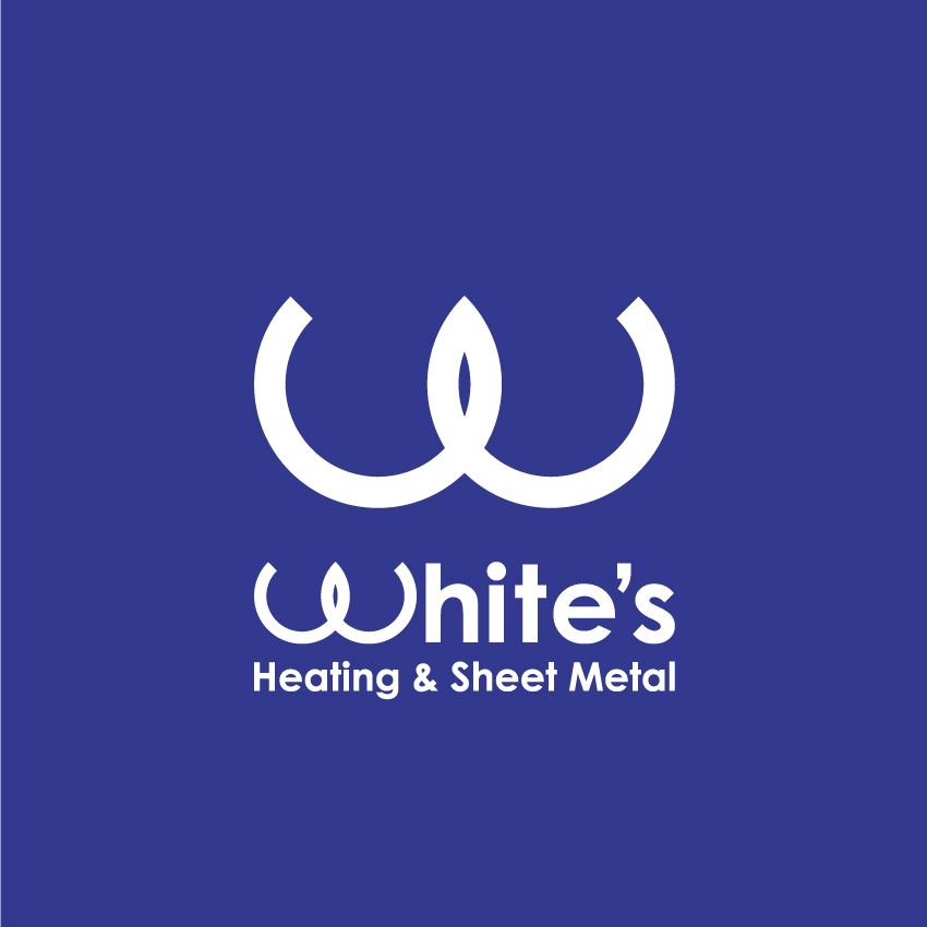 Logo Design by Kalinoe - Entry No. 37 in the Logo Design Contest Imaginative Logo Design for White's Heating and Sheet Metal.