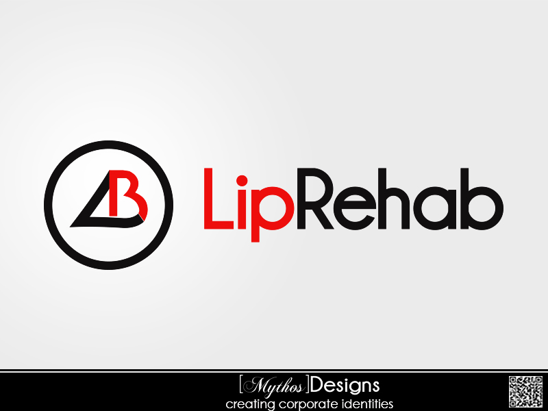 Logo Design by Mythos Designs - Entry No. 168 in the Logo Design Contest Creative Logo Design for Lip Rehab.
