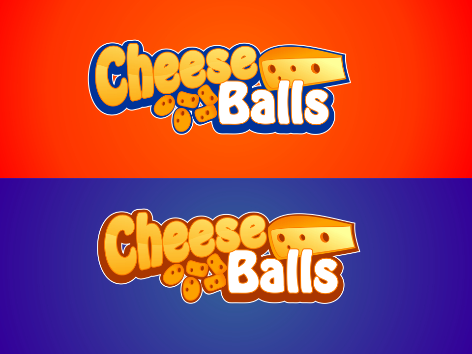 Logo Design by mr.pompi - Entry No. 41 in the Logo Design Contest Imaginative Logo Design for Cheese Balls.