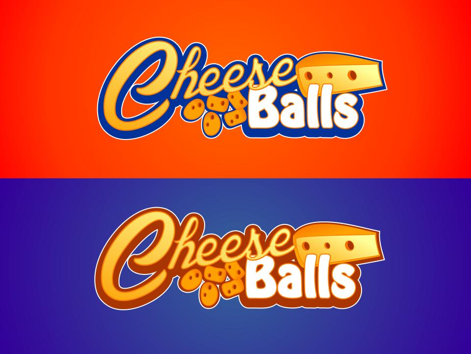 Logo Design by mr.pompi - Entry No. 42 in the Logo Design Contest Imaginative Logo Design for Cheese Balls.