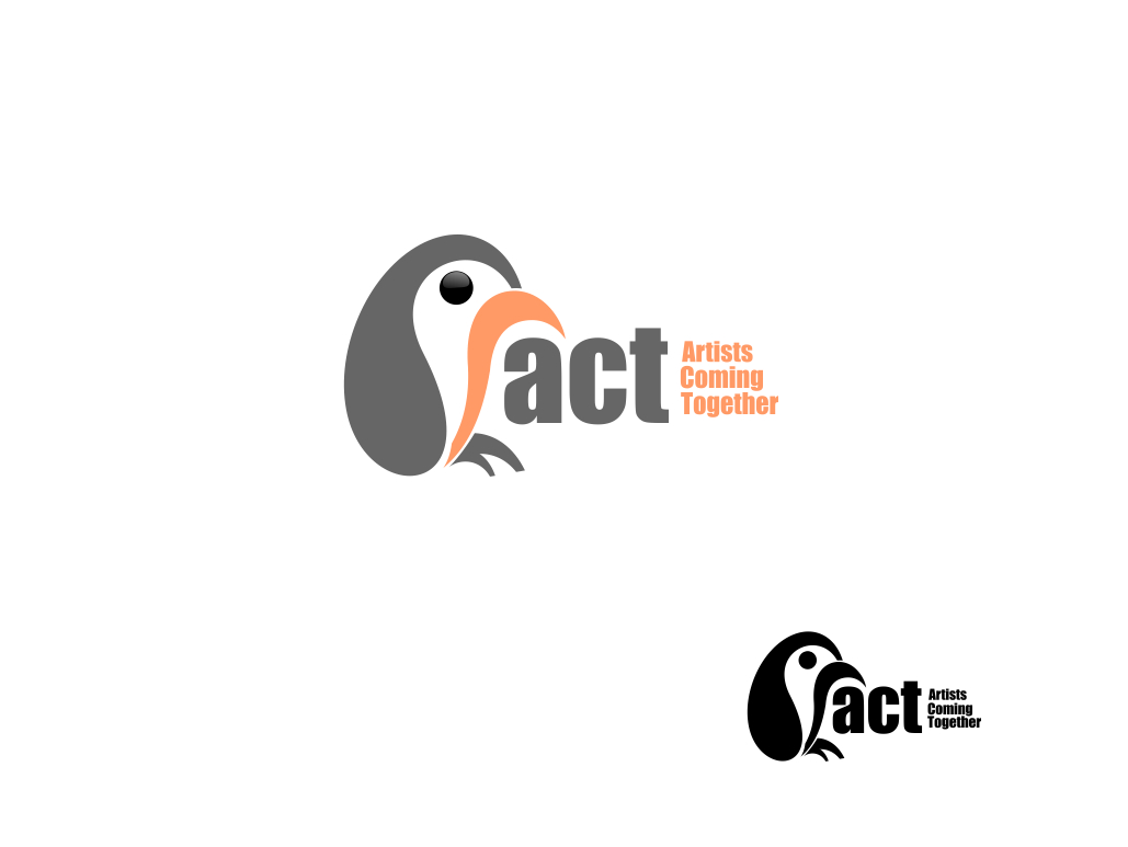 Logo Design by Chris Frederickson - Entry No. 21 in the Logo Design Contest Creative Logo Design for A.C.T. Artists Coming Together.