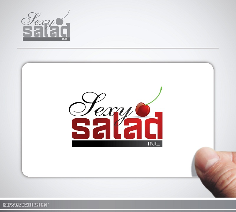 Logo Design by kowreck - Entry No. 4 in the Logo Design Contest Artistic Logo Design for Sexy Salad Inc..
