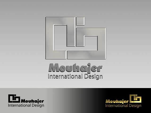 Logo Design by Vinci Halim - Entry No. 46 in the Logo Design Contest Unique Logo Design Wanted for Mouhajer International Design.