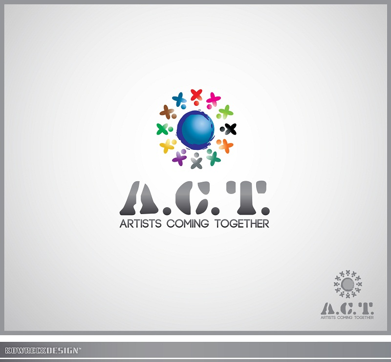 Logo Design by kowreck - Entry No. 25 in the Logo Design Contest Creative Logo Design for A.C.T. Artists Coming Together.