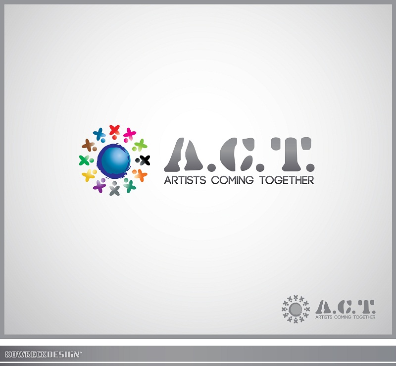 Logo Design by kowreck - Entry No. 26 in the Logo Design Contest Creative Logo Design for A.C.T. Artists Coming Together.