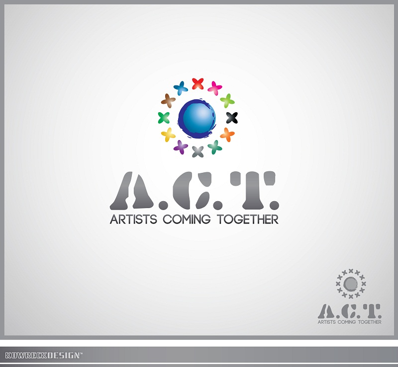 Logo Design by kowreck - Entry No. 28 in the Logo Design Contest Creative Logo Design for A.C.T. Artists Coming Together.