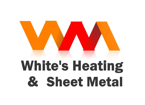 Logo Design by Ismail Adhi Wibowo - Entry No. 49 in the Logo Design Contest Imaginative Logo Design for White's Heating and Sheet Metal.