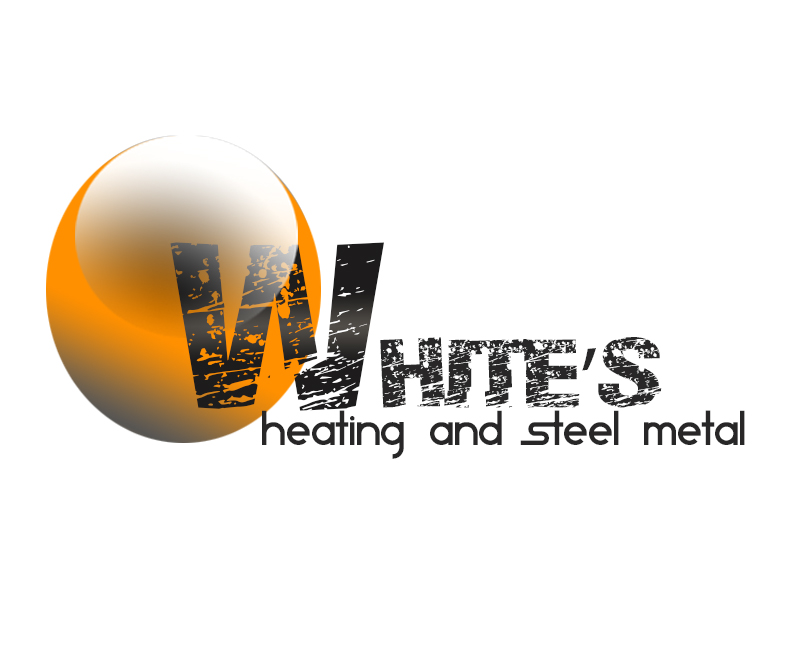 Logo Design by Azka Ik - Entry No. 50 in the Logo Design Contest Imaginative Logo Design for White's Heating and Sheet Metal.