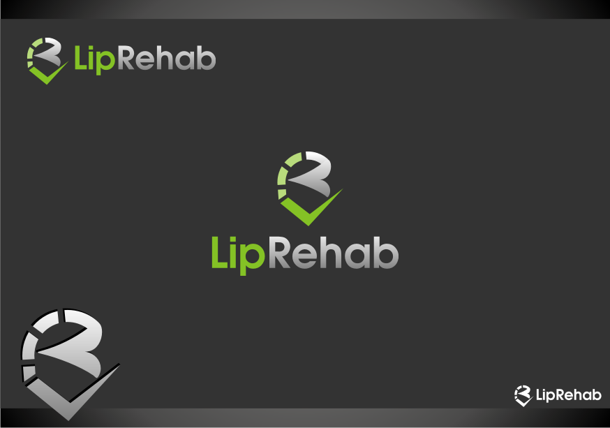 Logo Design by graphicleaf - Entry No. 192 in the Logo Design Contest Creative Logo Design for Lip Rehab.