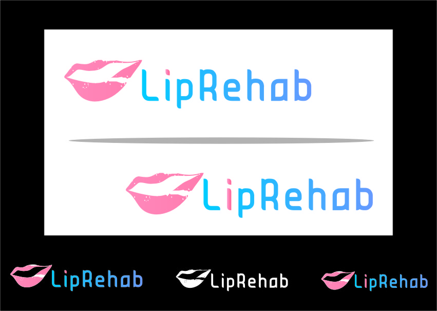 Logo Design by RasYa Muhammad Athaya - Entry No. 202 in the Logo Design Contest Creative Logo Design for Lip Rehab.