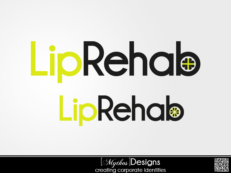 Logo Design by Mythos Designs - Entry No. 204 in the Logo Design Contest Creative Logo Design for Lip Rehab.