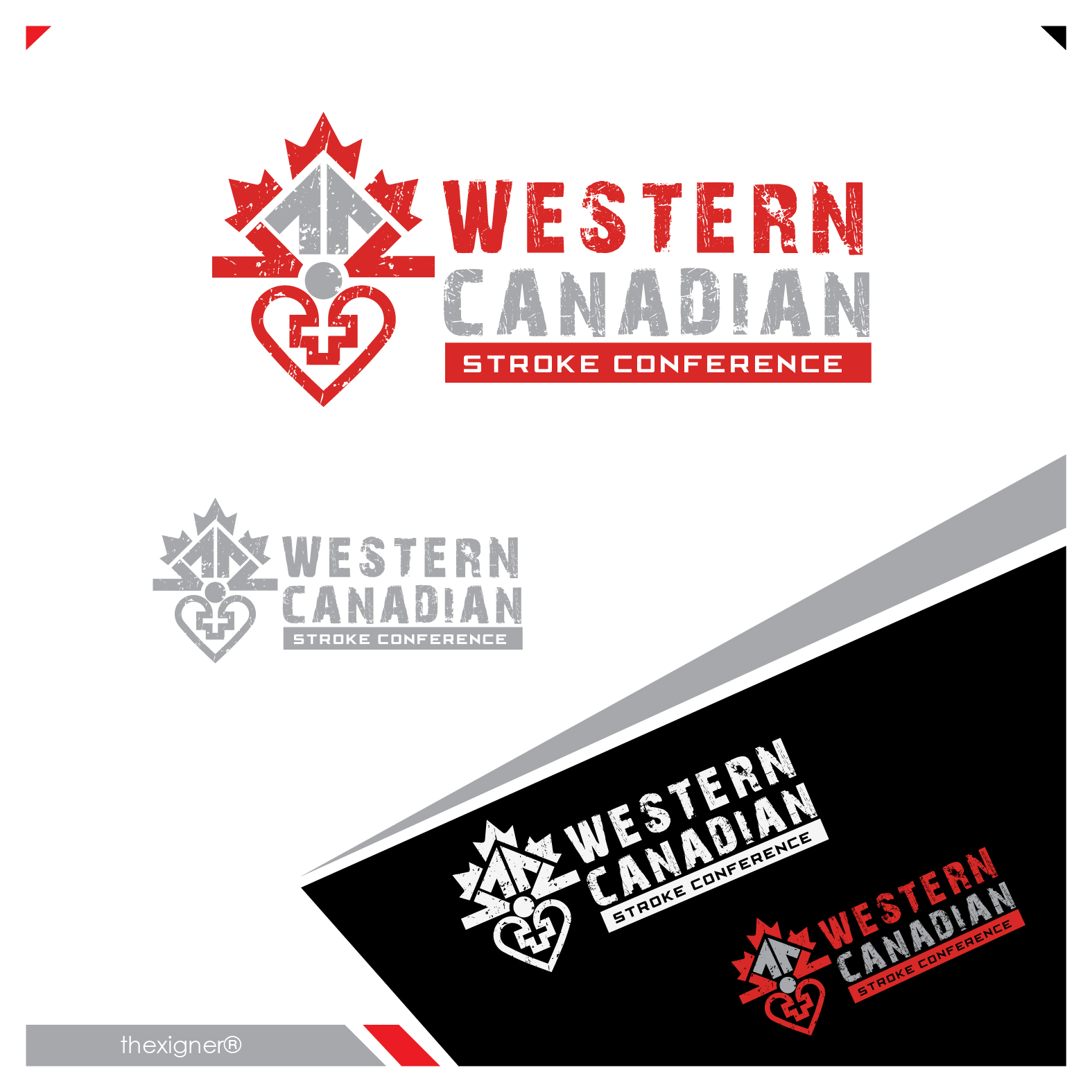 Logo Design by lagalag - Entry No. 35 in the Logo Design Contest Artistic Logo Design for Western Canadian Stroke Conference.