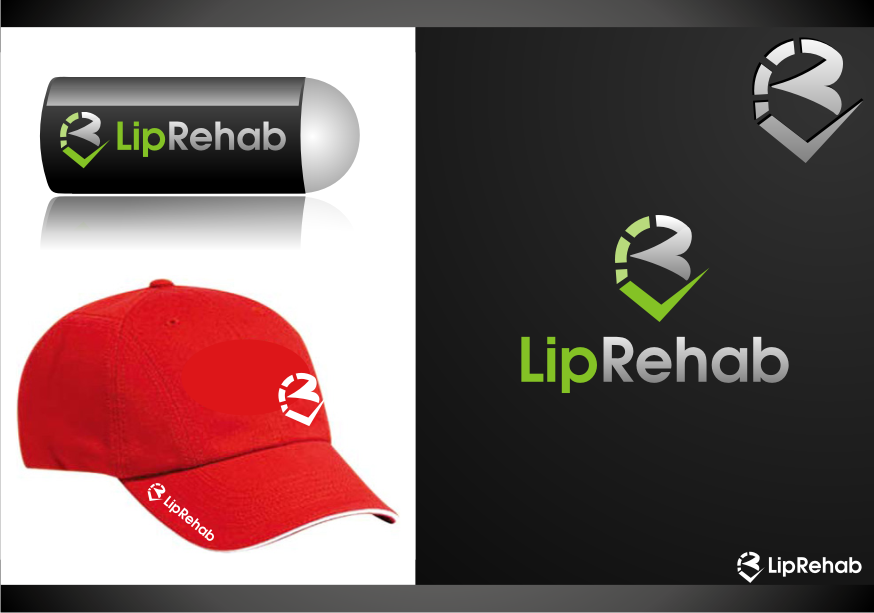 Logo Design by graphicleaf - Entry No. 205 in the Logo Design Contest Creative Logo Design for Lip Rehab.