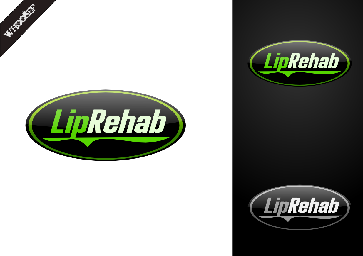 Logo Design by whoosef - Entry No. 206 in the Logo Design Contest Creative Logo Design for Lip Rehab.