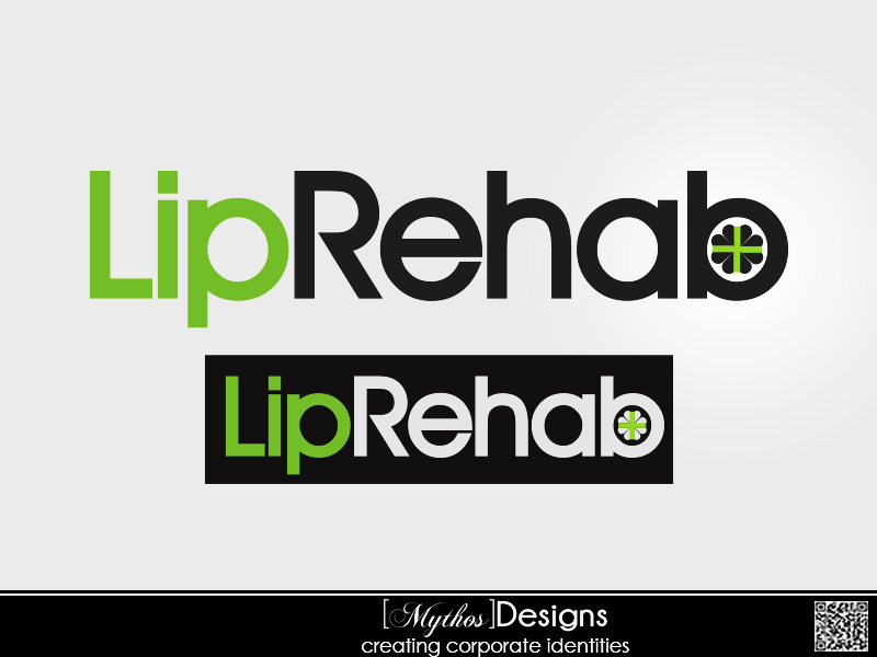 Logo Design by Mythos Designs - Entry No. 208 in the Logo Design Contest Creative Logo Design for Lip Rehab.