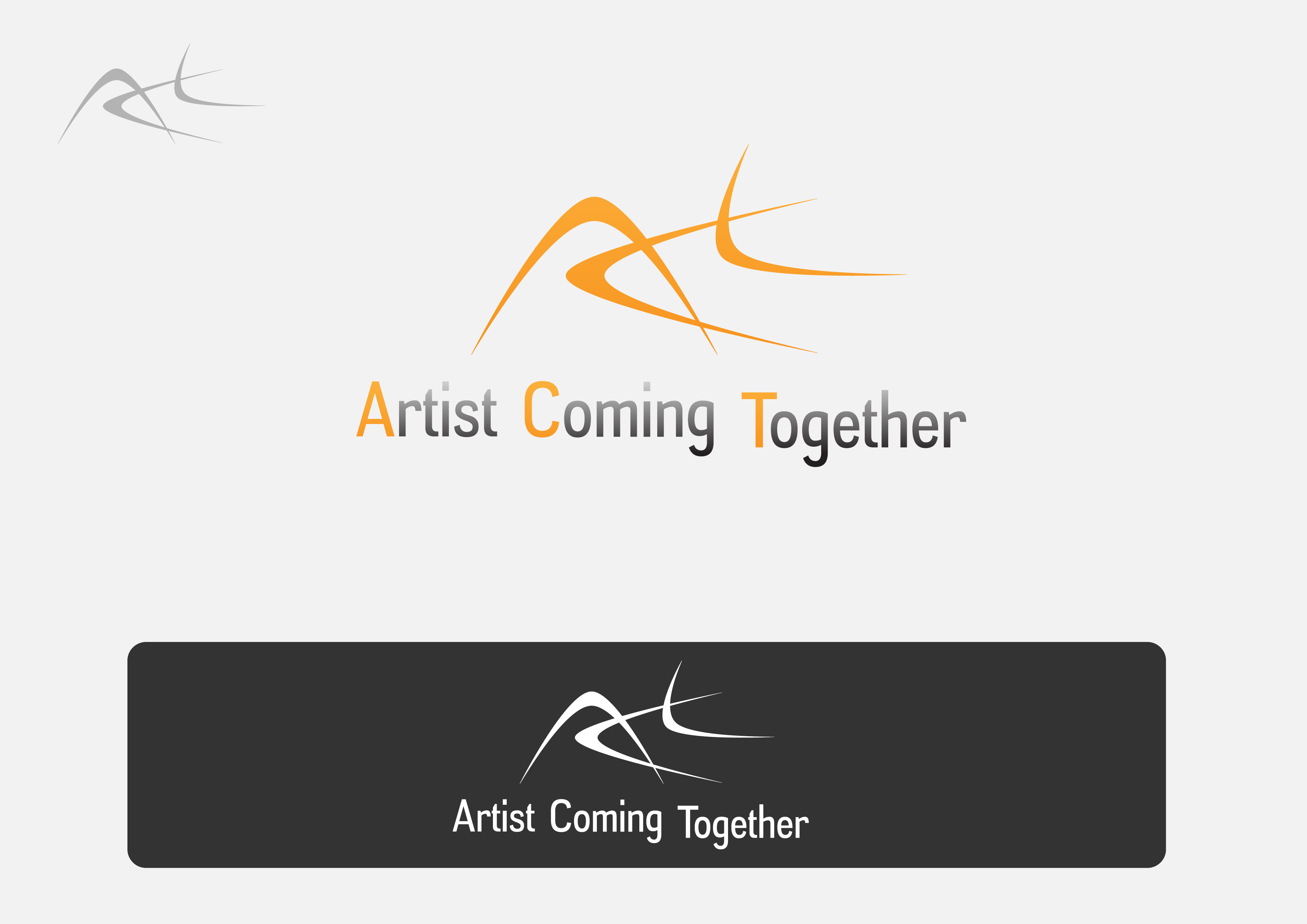 Logo Design by 3draw - Entry No. 29 in the Logo Design Contest Creative Logo Design for A.C.T. Artists Coming Together.