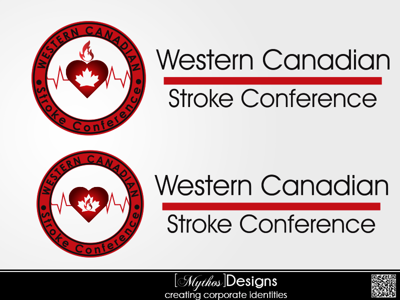 Logo Design by Mythos Designs - Entry No. 36 in the Logo Design Contest Artistic Logo Design for Western Canadian Stroke Conference.