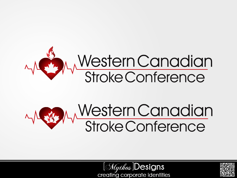Logo Design by Mythos Designs - Entry No. 37 in the Logo Design Contest Artistic Logo Design for Western Canadian Stroke Conference.