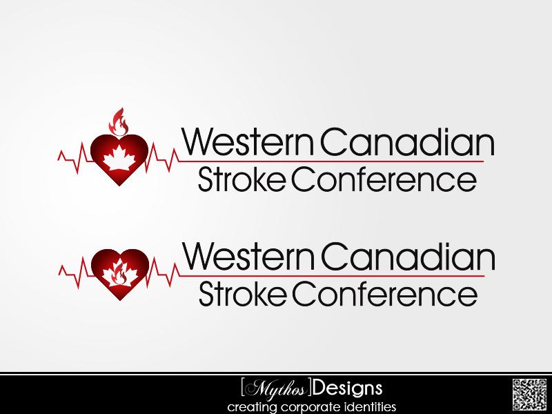 Logo Design by Mythos Designs - Entry No. 37 in the Logo Design Contest Artistic Logo Design for Western Canadian Stroke Conference.
