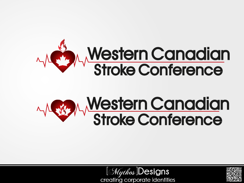 Logo Design by Mythos Designs - Entry No. 38 in the Logo Design Contest Artistic Logo Design for Western Canadian Stroke Conference.