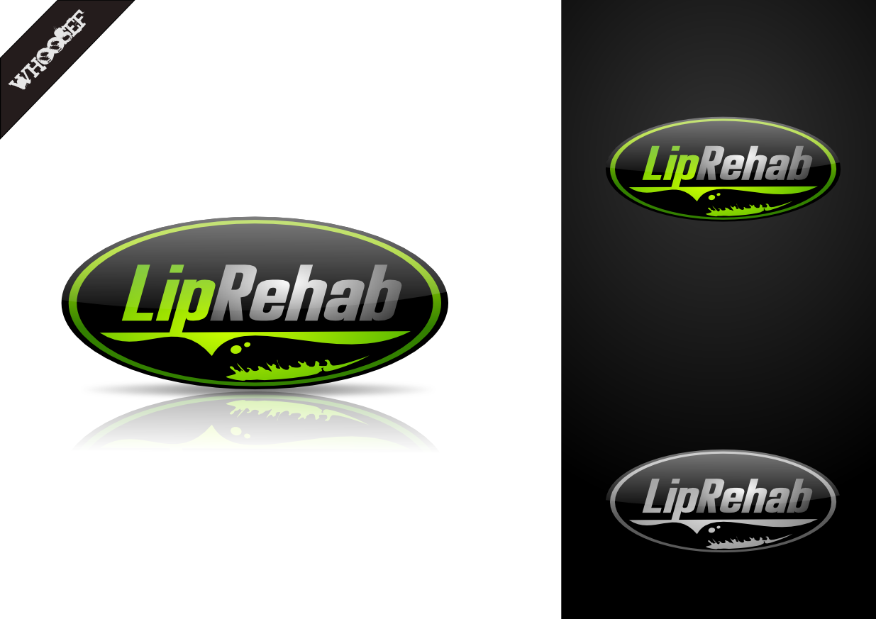 Logo Design by whoosef - Entry No. 218 in the Logo Design Contest Creative Logo Design for Lip Rehab.