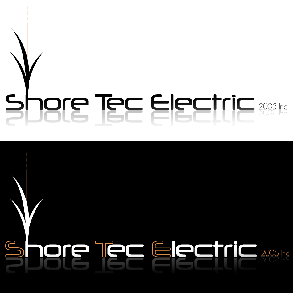 Logo Design by dada45 - Entry No. 21 in the Logo Design Contest Shore Tec Electric 2005 Inc.