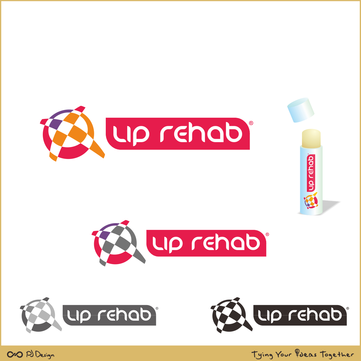 Logo Design by PJD - Entry No. 225 in the Logo Design Contest Creative Logo Design for Lip Rehab.