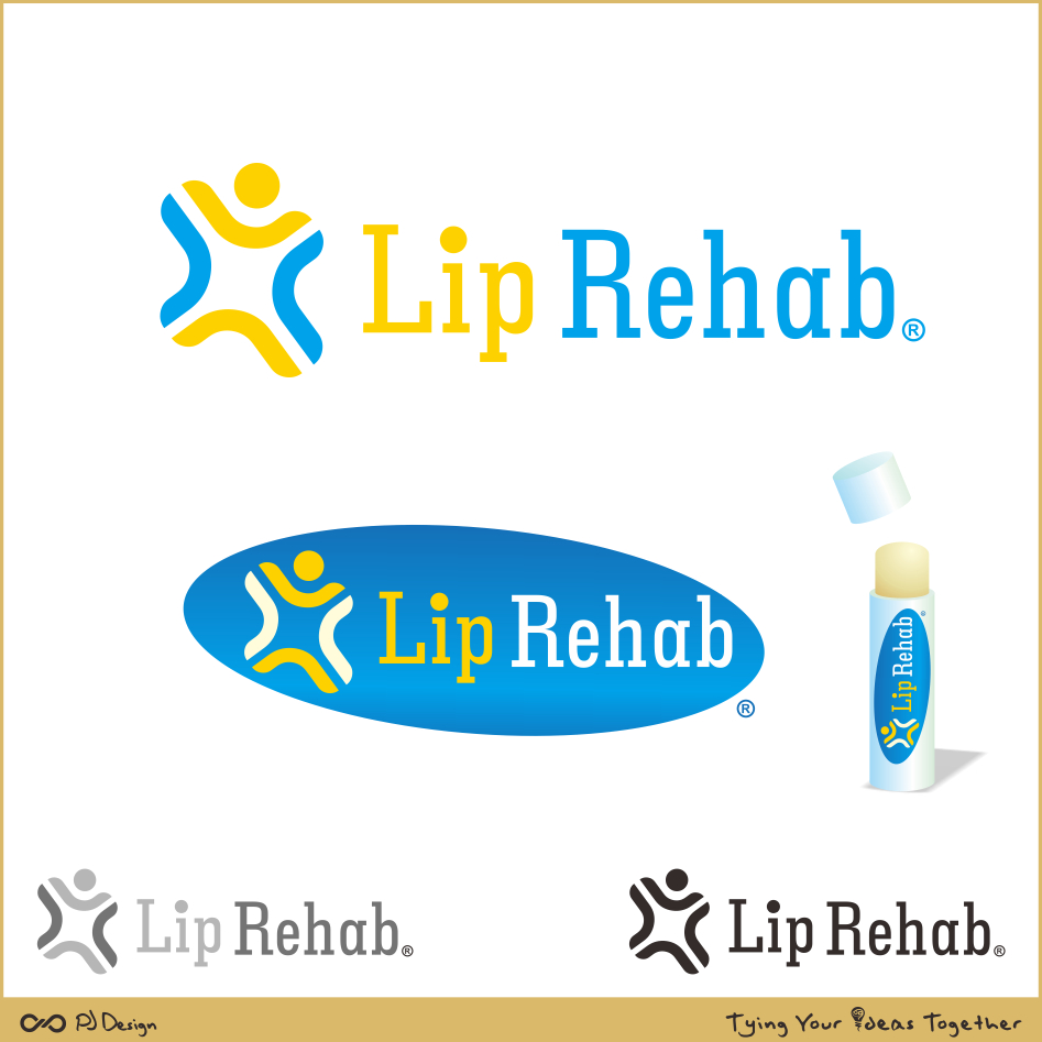 Logo Design by PJD - Entry No. 228 in the Logo Design Contest Creative Logo Design for Lip Rehab.