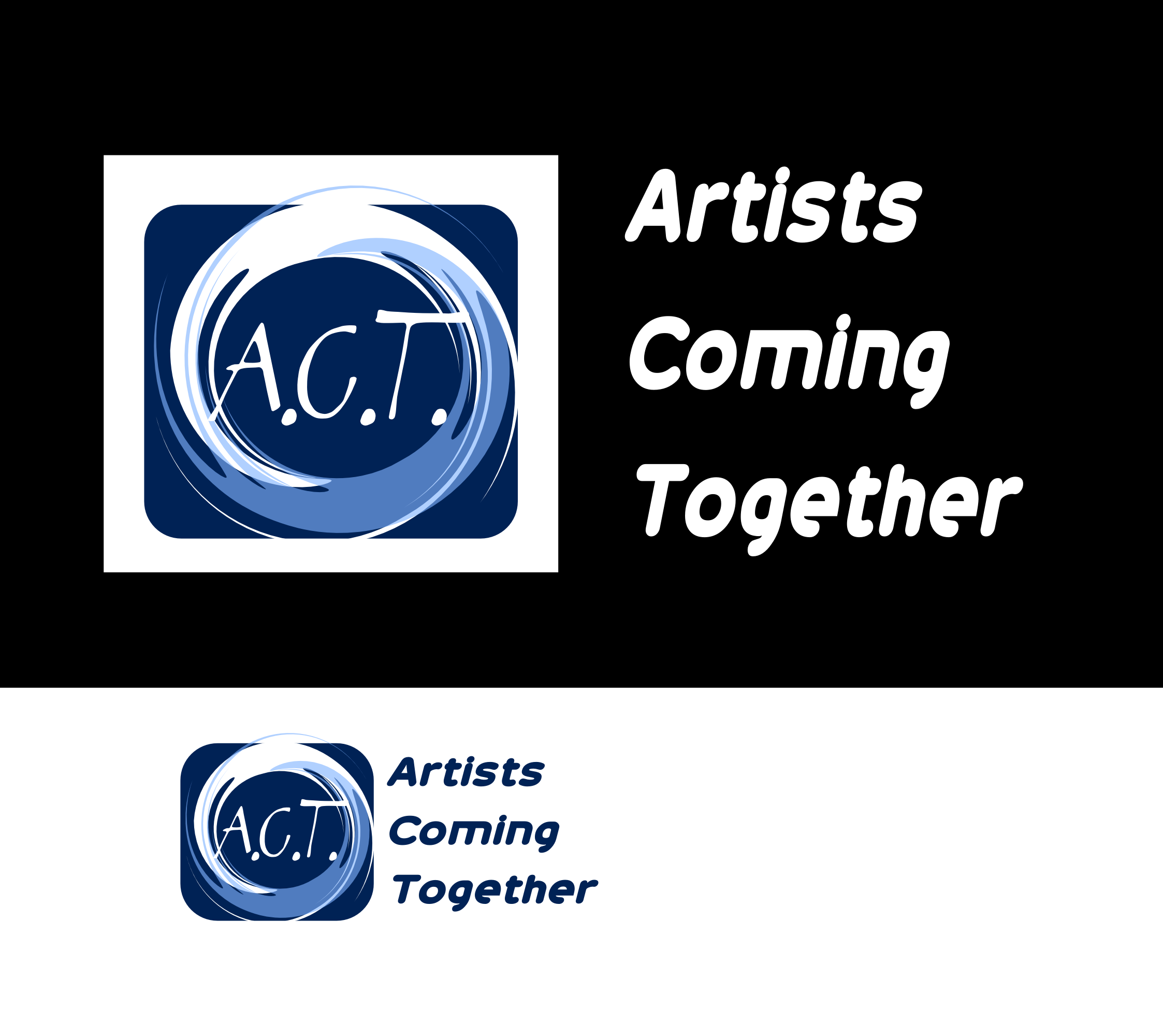 Logo Design by Arindam Khanda - Entry No. 30 in the Logo Design Contest Creative Logo Design for A.C.T. Artists Coming Together.