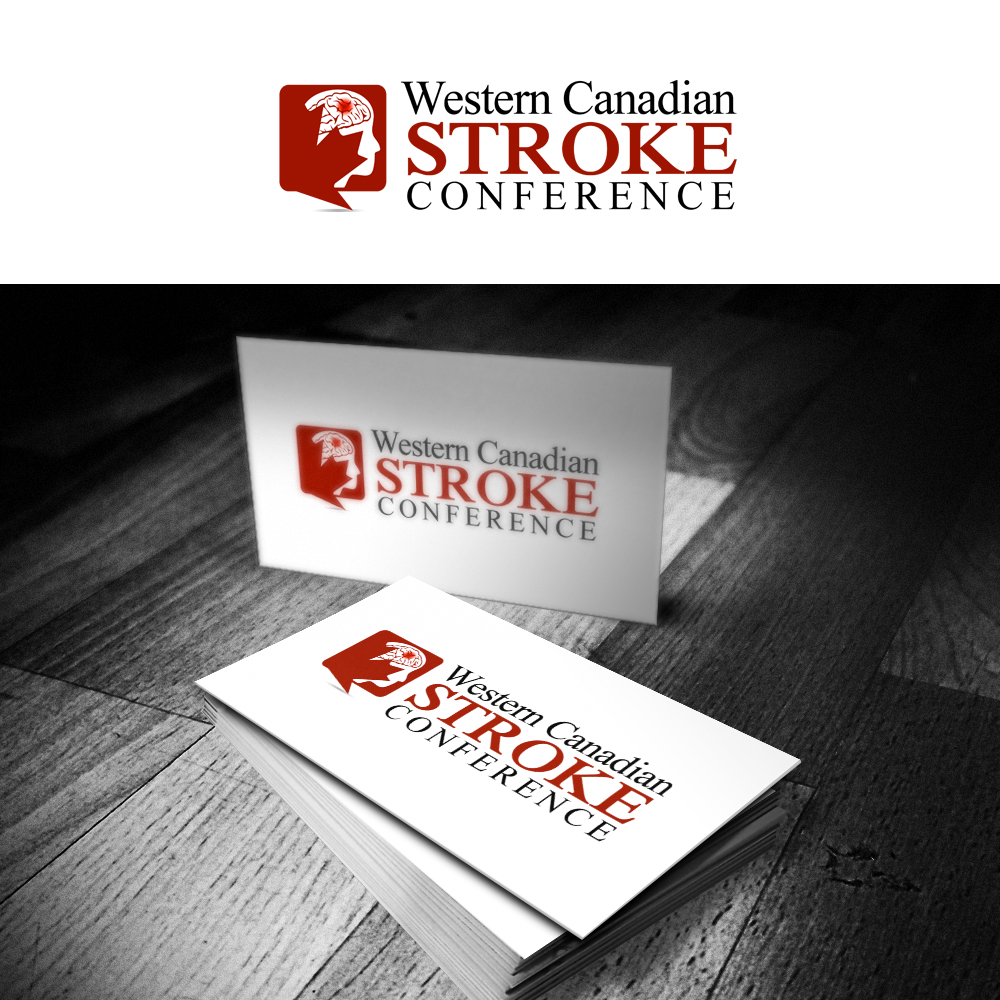 Logo Design by omARTist - Entry No. 47 in the Logo Design Contest Artistic Logo Design for Western Canadian Stroke Conference.