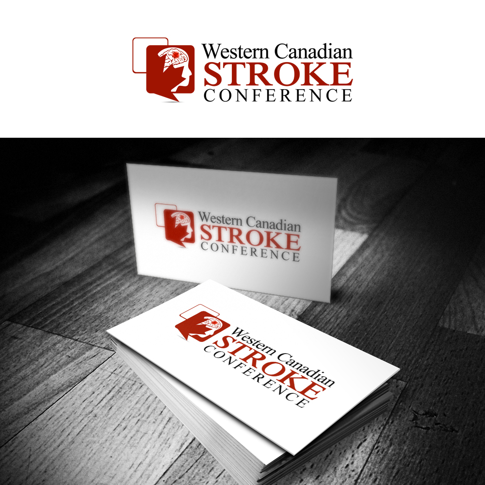 Logo Design by omARTist - Entry No. 49 in the Logo Design Contest Artistic Logo Design for Western Canadian Stroke Conference.