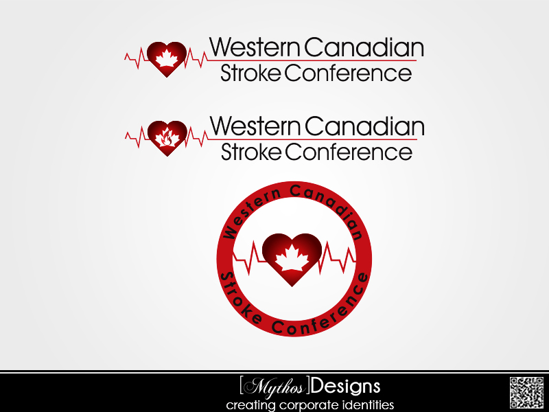 Logo Design by Mythos Designs - Entry No. 50 in the Logo Design Contest Artistic Logo Design for Western Canadian Stroke Conference.