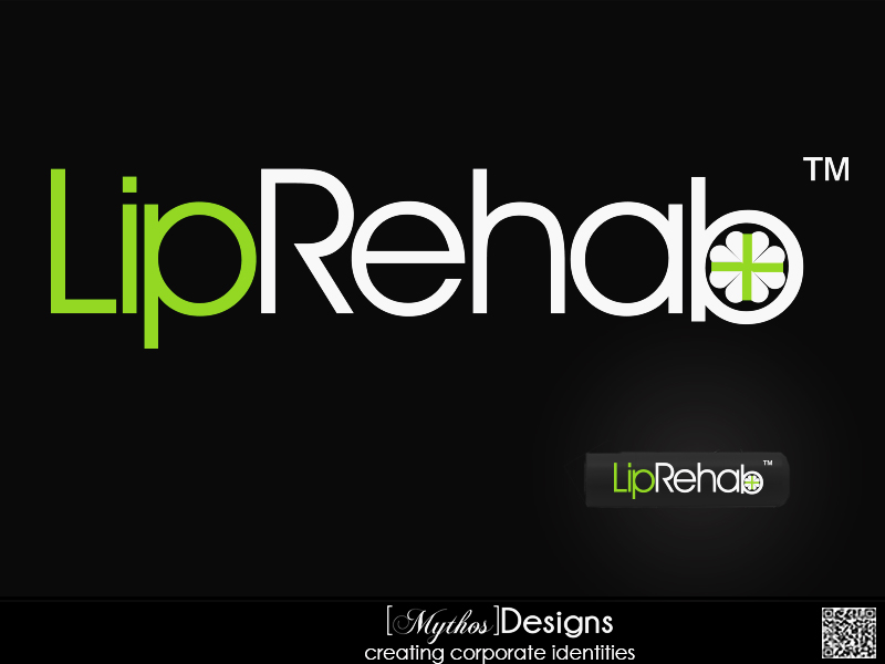 Logo Design by Mythos Designs - Entry No. 234 in the Logo Design Contest Creative Logo Design for Lip Rehab.
