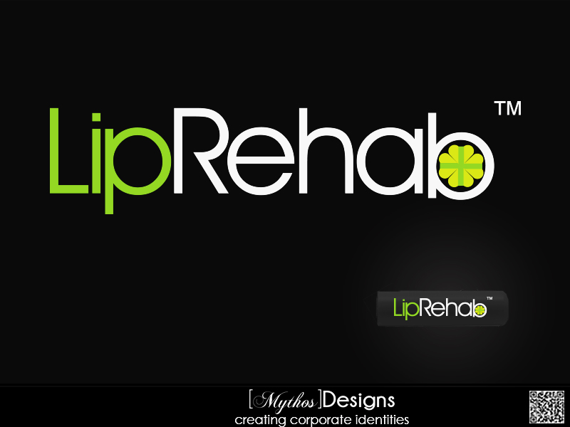 Logo Design by Mythos Designs - Entry No. 235 in the Logo Design Contest Creative Logo Design for Lip Rehab.