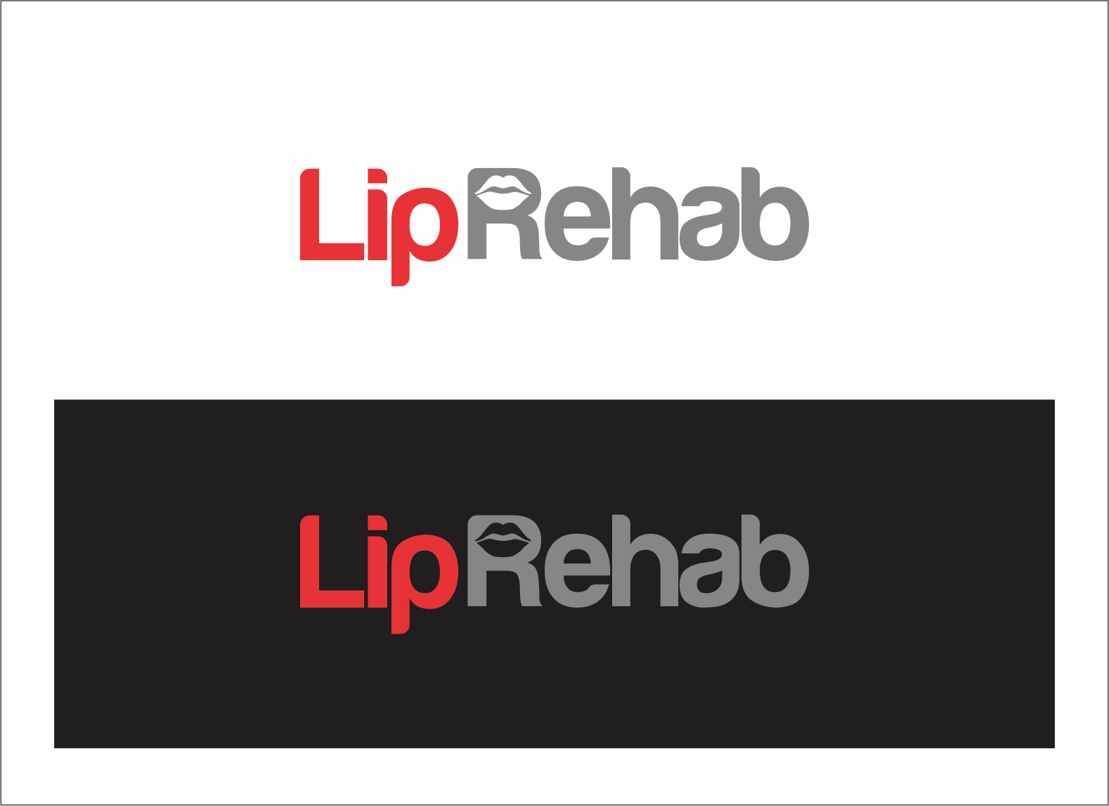 Logo Design by fathdesigner - Entry No. 240 in the Logo Design Contest Creative Logo Design for Lip Rehab.