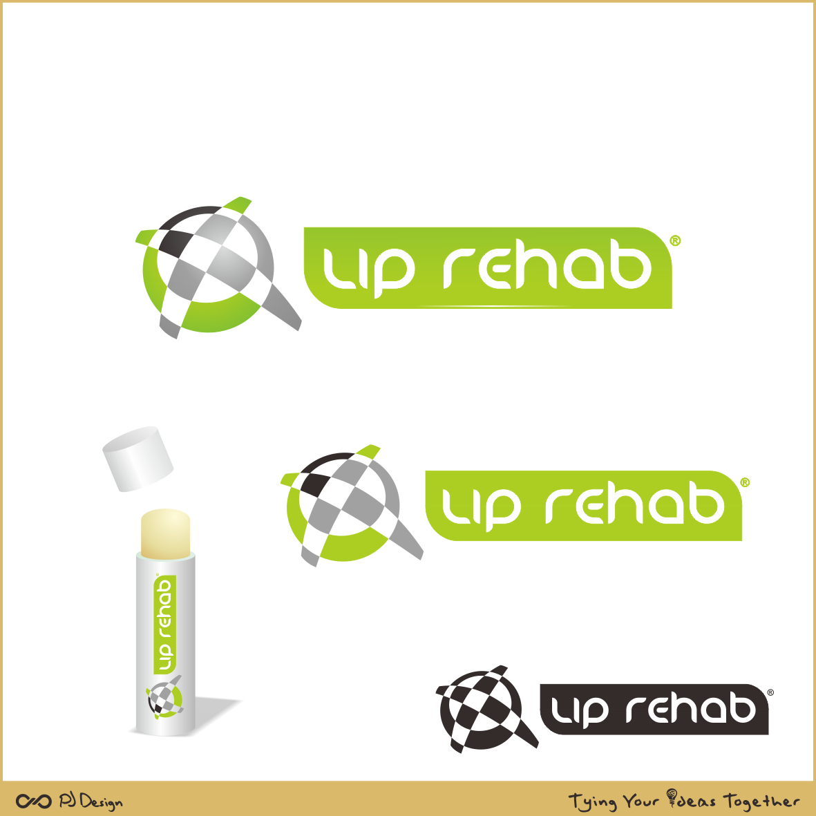 Logo Design by PJD - Entry No. 241 in the Logo Design Contest Creative Logo Design for Lip Rehab.