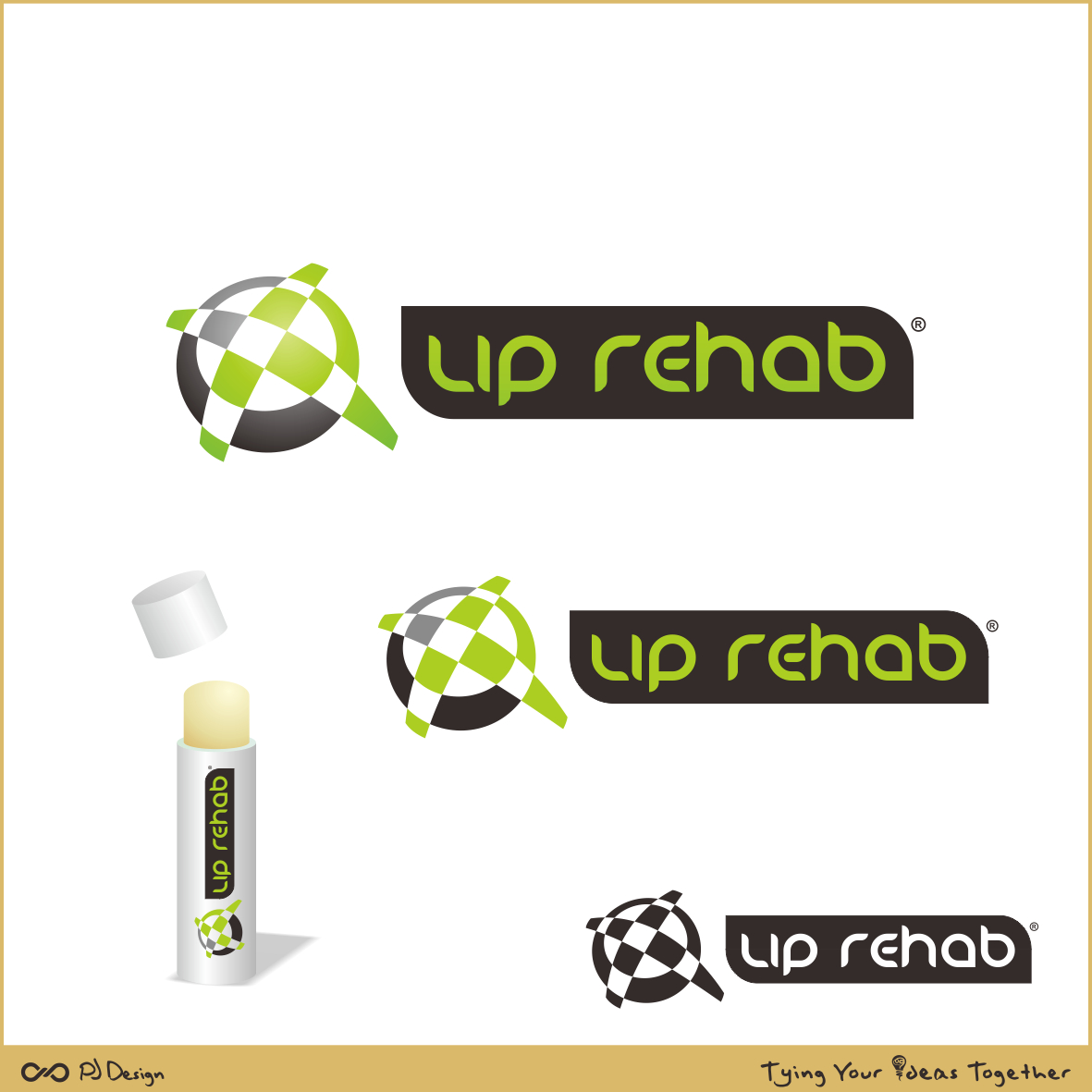 Logo Design by PJD - Entry No. 242 in the Logo Design Contest Creative Logo Design for Lip Rehab.