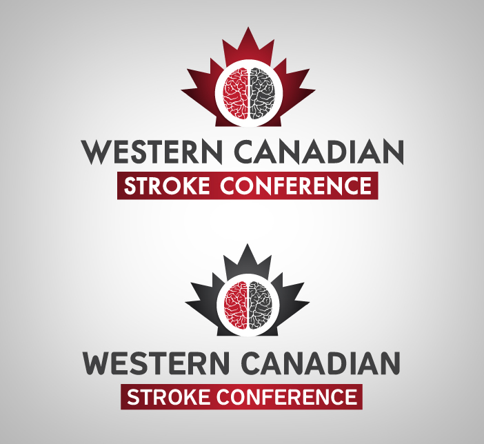 Logo Design by nausigeo - Entry No. 54 in the Logo Design Contest Artistic Logo Design for Western Canadian Stroke Conference.